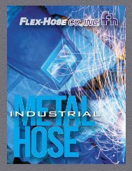 Industrial Metal Hose - Flex-Hose Co Inc