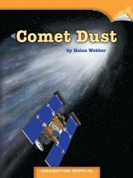 Lesson 2:Comet Dust