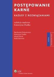 postępowanie karne - Księgarnia Internetowa profinfo.pl