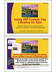 This tutorial section in PDF. - Custom Training Courses ...