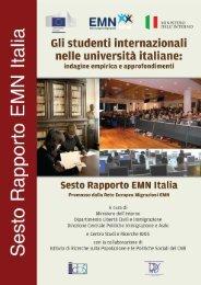 Gli studenti internazionali nelle università italiane - West