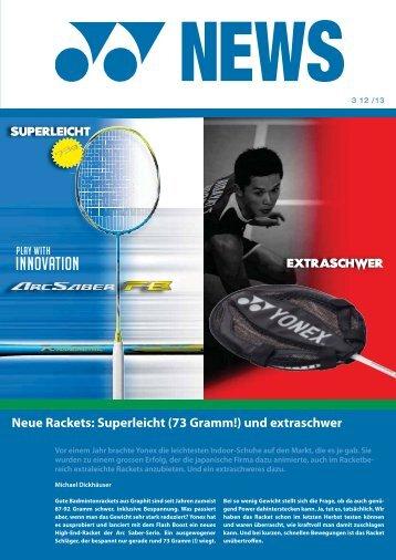 Yonex News 3 aus der Saison 2012/13 vom März 2013 (PDF, 0.9 Mb)