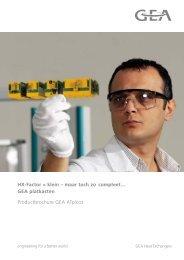 Commerciele brochure ATpicco - GEA Happel Belgium