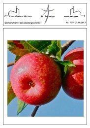 Informationen / Veranstaltungen Zum Guten Hirten - Sankt Antonius ...