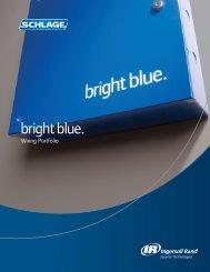 bright blue ™ Wiring Portfolio - Security Technologies