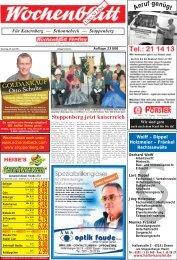 Wochenblatt Ausgabe vom 23.Juli 2013 - 45309 Essen ...