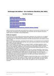 Forum für Ordnungen des Helfens - Ein erweiterter ... - Claro Karlsruhe