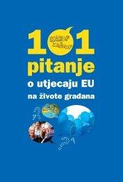 101 pitanje o utjecaju EU na živote građana - Delegacija Europske ...