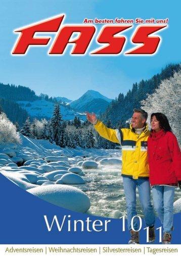 Ihre Reiseziele im Winterhalbjahr 2010/2011 - Fass Reisen