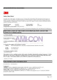 3M DP 410 MSDS - AMI-CON