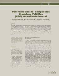 Determinación de Compuestos Orgánicos Volátiles (VOC)