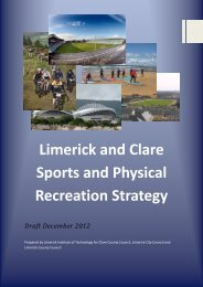 Limerick and Clare Sports and Physical Recreation Strategy Final ...