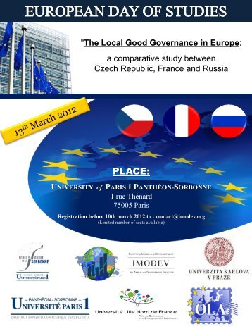 The Local Good Governance in Europe - Imodev