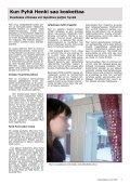 KRISTILLINEN ALKOHOLISTI- JA NARKOMAANITYÖ RY 1-2008 - Page 7