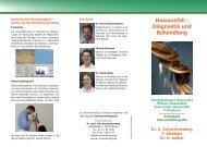 Diagnostik und Behandlung - Dr.med. Uwe Schwichtenberg
