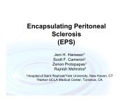 Encapsulating Peritoneal Sclerosis (EPS) - International Society for ...