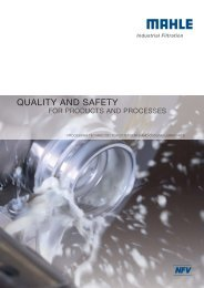 quality and safety - MAHLE Industry - Filtration