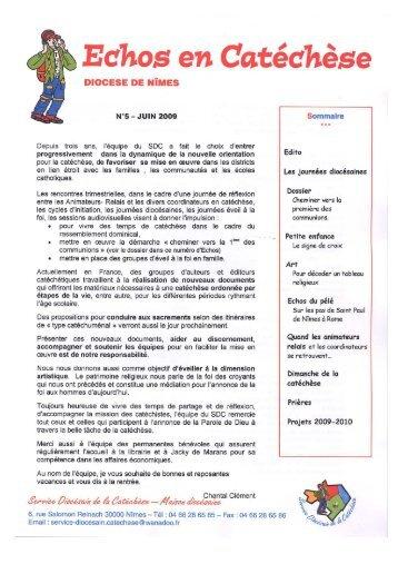 Nouveau Document Microsoft Word - Diocèse de Nîmes, Uzès, Alès