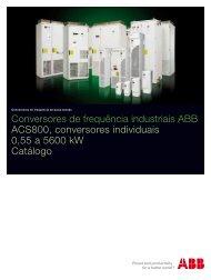 Catálogo de Conversores industriais ABB