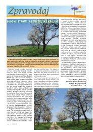 Ovocné stromy v zemědělské krajině