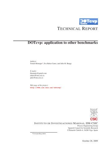DOTcvp: Dynamic Optimization Toolbox with Control Vector ...