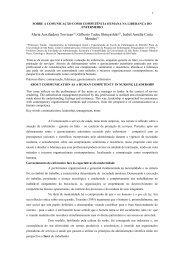 Maria Auxiliadora Trevizan(1) - SciELO Proceedings