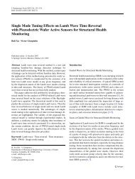 Single Mode Tuning Effects on Lamb Wave Time Reversal with ...
