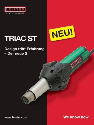 Triac ST Prospekt - F. Jannone AG