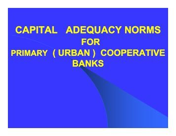 capital adequacy Looking for information on capital adequacy  the term refers to the amount of  capital needed to satisfy a specified economic capital constraint (eg, a certain.