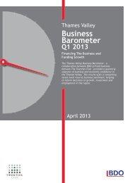 Thames Valley Business Barometer - Uk.com