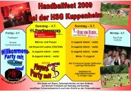 Einladung HSG 2009 1