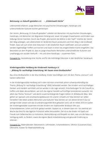 2 Free Magazines From Joachim Herz Stiftung De