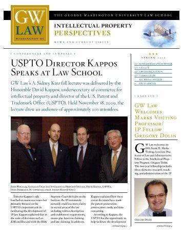 perspectives - George Washington University Law School