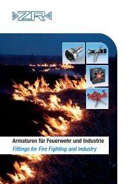 Katalog Armaturen ZR - ZR Armaturen GmbH