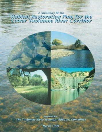 Habitat Restoration Plan for the Lower Tuolumne River Corridor ...