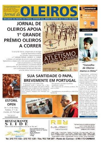 Edição de Abril de 2010. - Jornal de Oleiros
