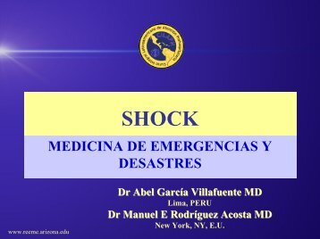 Shock - Reeme.arizona.edu