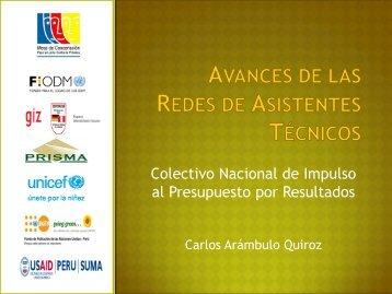 Tema 1 - Avances de la Red de Asistentes Técnicos