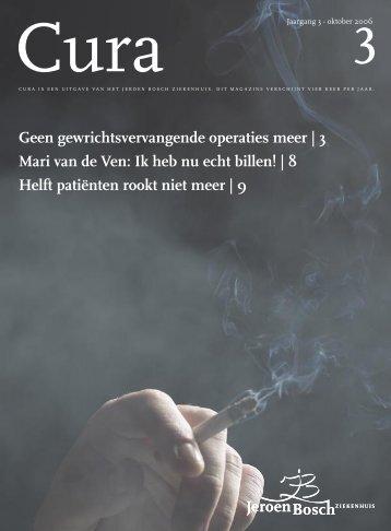 Geen gewrichtsvervangende operaties meer - Jeroen Bosch ...