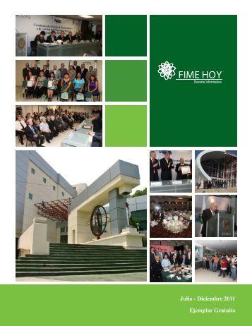 Julio-Diciembre 2011 - Facultad de Ingeniería Mecánica y Eléctrica