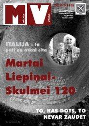 Nr.5 (110) Maijs - Mālpils