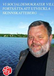 Handlingsprogram för socialdemokraterna i Skinnskatteberg 2011 ...