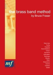 the brass band method