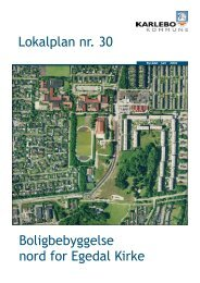Lokalplan nr. 30 - Fredensborg Kommune
