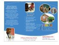 Jefferson Elementary Brochure - St. Louis Public Schools
