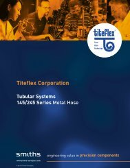 Titeflex Corporation - Aero-Hose