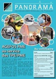 AGEFOS PME au service des TPE/PME - Votre branche d'activité ou ...