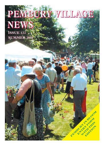 Issue 122 - the Pembury Village Website