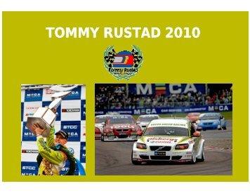 TOMMY RUSTAD 2010