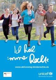 Poster zum Aktionstag